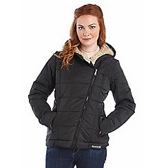 Regatta - Black willa insulated non waterproof jacket
