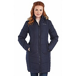 Regatta - Navy fearne qulited parka