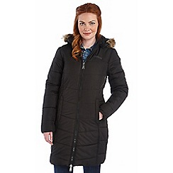 Regatta - Black fearne qulited parka