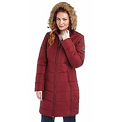 Regatta - Fig fearne qulited parka