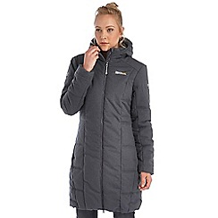 Regatta - Grey chantilly longline puffa jacket