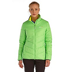 Regatta - Lime icebound lightweight puffa jacket