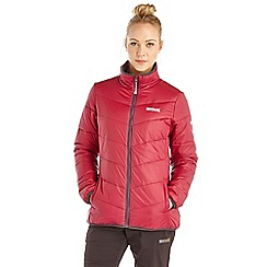 Regatta - Beetroot icebound lightweight puffa jacket