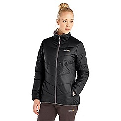 Regatta - Black icebound lightweight puffa jacket