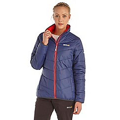 Regatta - Navy icebound lightweight puffa jacket