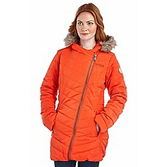 Regatta - Orange petulia mid-length puffa