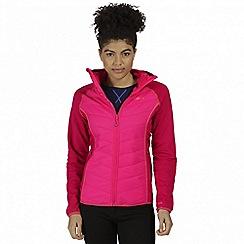 Regatta - Pink 'Andreson' hybrid jacket