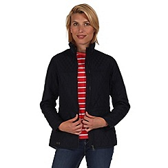 Regatta - Navy krystie showerproof jacket