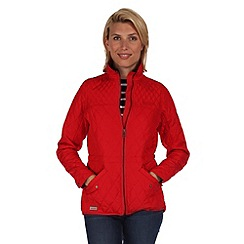 Regatta - Red krystie showerproof jacket