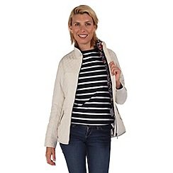 Regatta - White krystie showerproof jacket