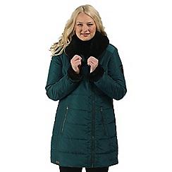 Regatta - Teal Patrina showerproof coat