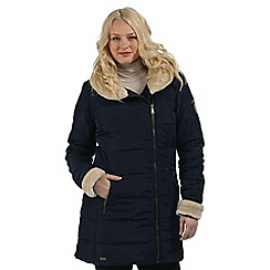 Regatta - Navy Patrina showerproof coat