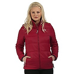 Regatta - Purple Zyber showerproof quilted jacket