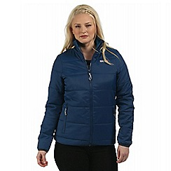 Regatta - Navy Zyber showerproof quilted jacket