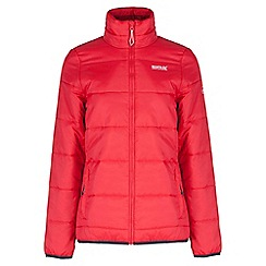 Regatta - Red Zyber showerproof quilted jacket