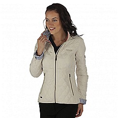 Regatta - Natural cosmia quilted jacket