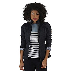 Regatta - Navy cosmia quilted jacket