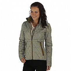 Regatta - Green cosmia quilted jacket