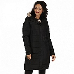 Regatta - Black 'Fermina' parka jacket