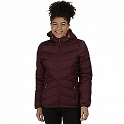 Regatta - Purple 'Nevado' insulated jacket