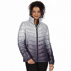 Regatta - Grey two toned 'Azuma' insulated jacket