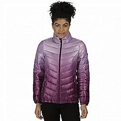 Regatta - Purple 'Azuma' insulated jacket