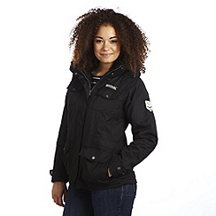 Regatta - Black rainfall 3 in 1 waterproof jacket