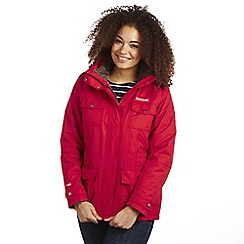 Regatta - Red rainfall 3 in 1 waterproof jacket