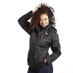 Regatta - Black kyla 3 in 1 waterproof jacket