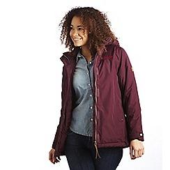 Regatta - Dk burgundy dustie jacket