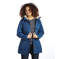 Regatta - Blue foxtail waterproof parka