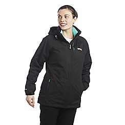 Regatta - Black vito 3 in 1 waterproof jacket