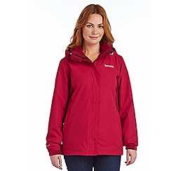 Regatta - Beetroot preya 3 in 1 waterproof jacket