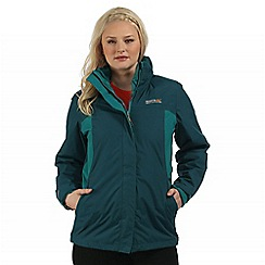Regatta - Teal Preya 3 in 1 waterproof jacket