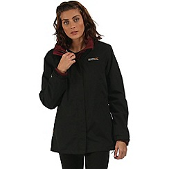 Regatta - Black Preya 3 in 1 waterproof jacket