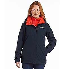 Regatta - Navy preya 3 in 1 waterproof jacket