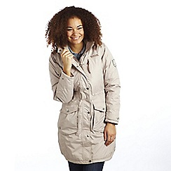 Regatta - Natural landbreak waterproof parka
