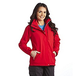 Regatta - Red keeta 3 in 1 waterproof jacket