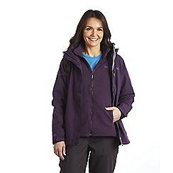 Regatta - Plum wine keeta 3in1 jacket