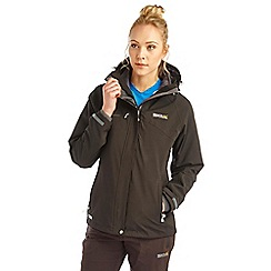 Regatta - Black louisiana 3 in 1 waterproof jacket