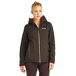 Regatta - Black wrightbridge 3 in 1 waterproof jacket