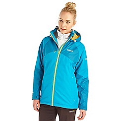Regatta - Blue alabama 3 in 1 waterproof jacket