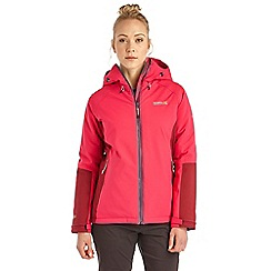 Regatta - Pink grisedale waterproof jacket