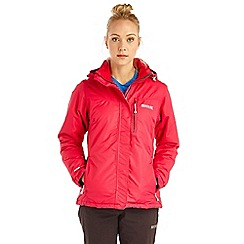 Regatta - Pink lamont waterproof jacket