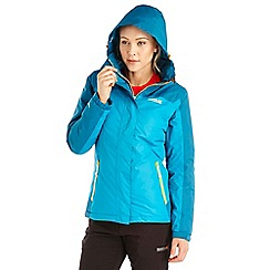 Regatta - Green sawel waterproof jacket