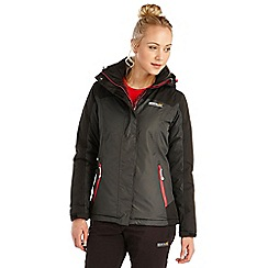 Regatta - Black sawel waterproof jacket