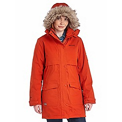 Regatta - Burnt tikka spiritsail waterproof cotton touch parka