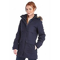 Regatta - Navy spiritsail waterproof cotton touch parka