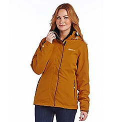 Regatta - Mustard cirro 3 in 1 waterproof jacket