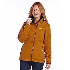 Regatta - Mustard cirro 3 in 1 waterproof jacket